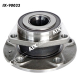 [AiX] 1K0498621 Front Wheel Bearing and Hub Assembly